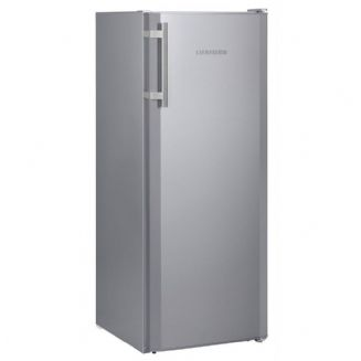 Liebheer KSL2814 Free standing Comfort Fridge with 4* freezer compartment in silver, 140cm